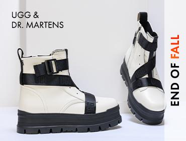 Обувки със снежен темперамент