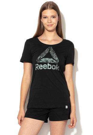 c1f0a35faa5 Фитнес тениска с лого Фитнес тениска с лого Reebok SportФитнес ...