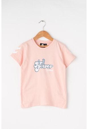 4533d8f23b4 Тениска Kevyne с текстова щампа ...
