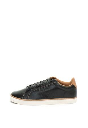 cd57b491ee2738 ... Pantofi sport de piele cu detalii perforate Courtace Premium ...