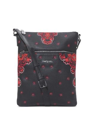 ... Műbőr keresztpántos táska hímzésekkel ... 25e831660b