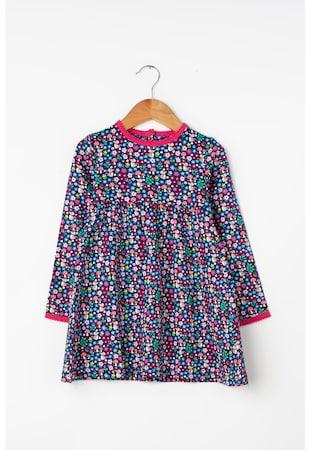 aa4668877a Laza fazonú virágmintás ruha ...