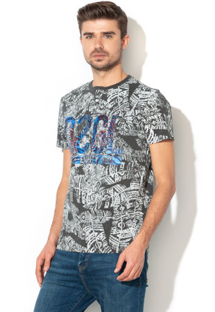 ... Lorimer mintás póló ... a21abd7e45