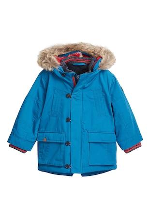 ... Vízálló parka kabát kapucnival ... b6f97e5653