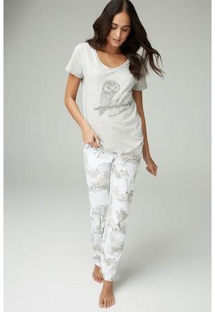 Pizsama   köntös NEXT Női szürke 90eedb6125