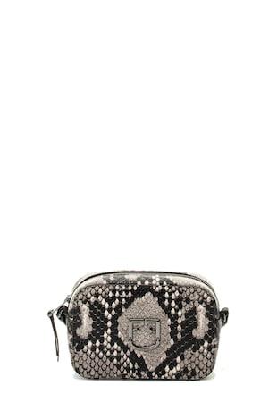 Belvedere bőr keresztpántos táska hüllőbőr hatású mintával ... 4630367a66