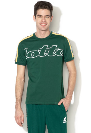 208cc97ab5 Athletica II logómintás póló kontrasztos oldalcsíkokkal ...