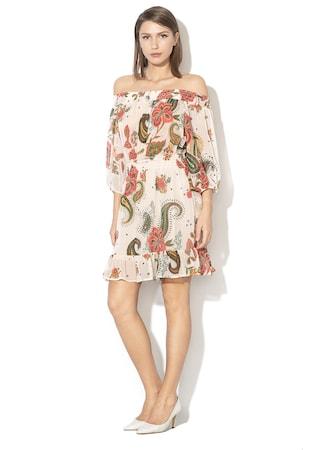 9015c550f5 Bővülő ruha virágmintával Bővülő ruha virágmintával