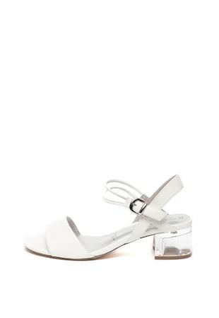 444ea0e85b6 Лачени сандали с прозрачен ток ...