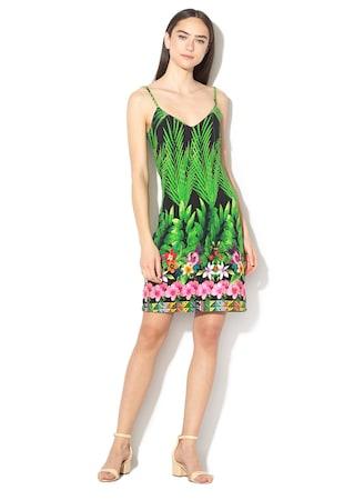 74f4d80d9b Annette virágmintás A-vonalú ruha ...