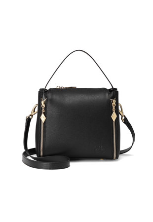 7d1a608f8459 Elisse bőr keresztpántos táska ...