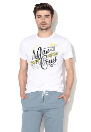 Тениска Bevan с десен