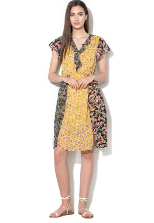 9af9c410e5 Star virágmintás bővülő fazonú ruha ...
