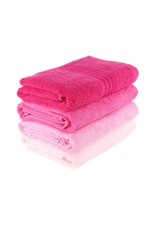 Комплект 4 кърпи  Rainbow Brown, 100% памук, 50x90 см