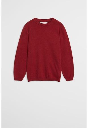 Пуловер с овално деколте Ten