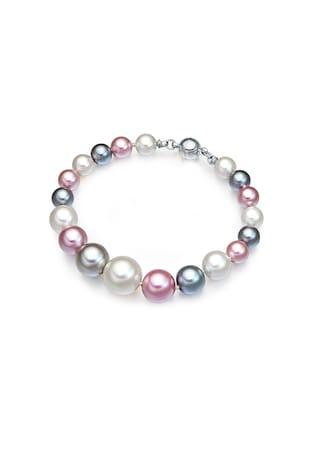 Bratara cu perle organice si inchidere magnetica