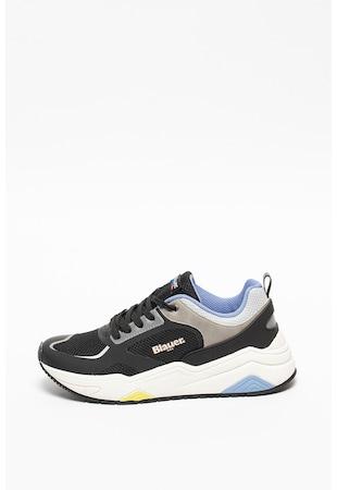 Pantofi sport cu model colorblock si insertii din plasa Taylor