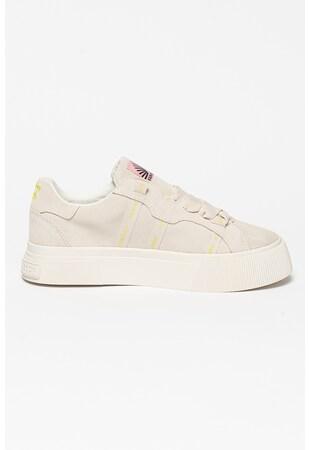 Велурени спортни обувки Zadie с текстил