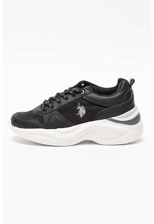 Спортни обувки Mercy от еко кожа с мрежа