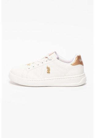 Спортни обувки Exxy от еко кожа с лого