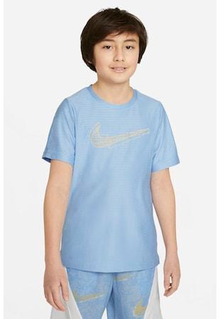 Tricou cu tehnologie Dri-Fit si decolteu la baza gatului