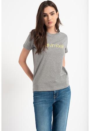 Tricou de bumbac organic cu logo Core