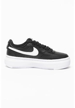Pantofi sport de piele si piele ecologica Nike Court Vision Alta