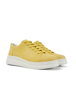 Pantofi sport din piele cu talpa wedge