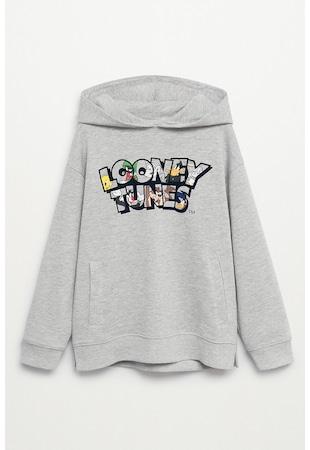 Суитшърт Inside с щампа на Looney Tunes