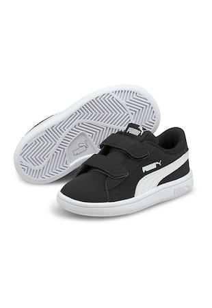Pantofi sport baieti, cu garnituri din piele ecologica, Smash V2 Buck