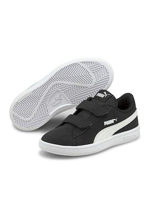 Pantofi sport cu garnituri din piele ecologica Smash V2 Buck