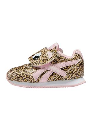 Pantofi sport cu inchidere velcro si imprimeu