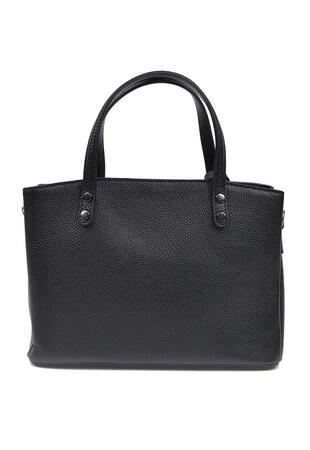 Кожена ръчна чанта с релеф