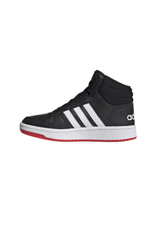 Pantofi sport mid cut din piele ecologica Hoops 2.0