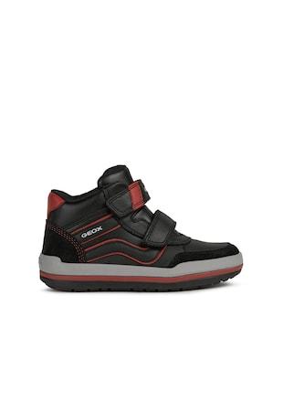 Charz bőr és műbőr sneaker kontrasztos részletekkel