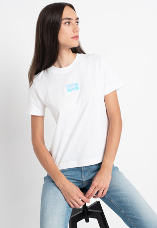 Tricou de bumbac organic cu aplicatie logo