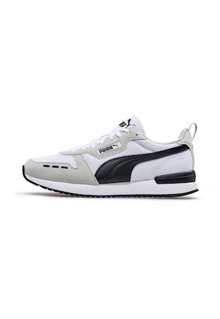 R78 colorblock dizájnos uniszex sneaker textil részletekkel