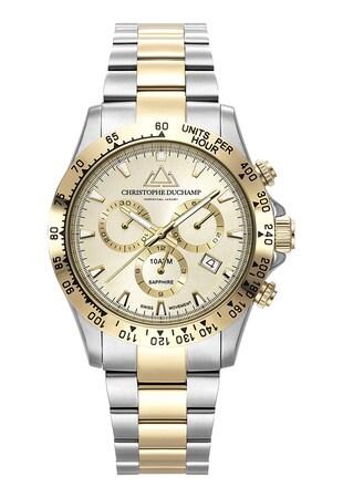 Иноксов часовник с хронограф