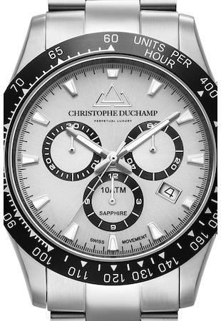 Кварцов часовник с иноксова верижка