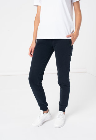 Pantaloni sport cu croiala conica si snur de ajustare