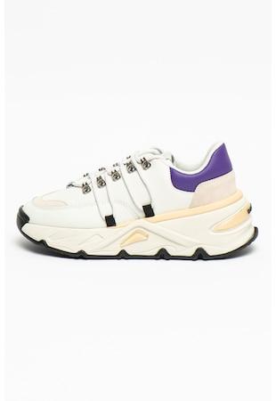 Pantofi sport de piele si piele intoarsa S-Herby