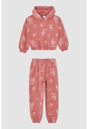 Pijama cu imprimeu cu desene animate