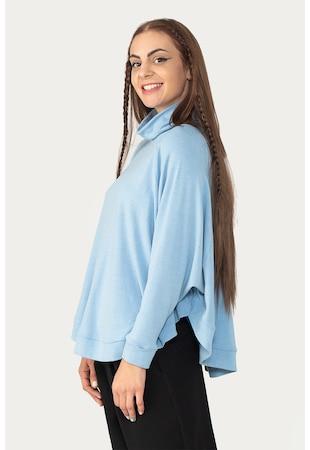 Bluza supradimensionata cu maneci raglan