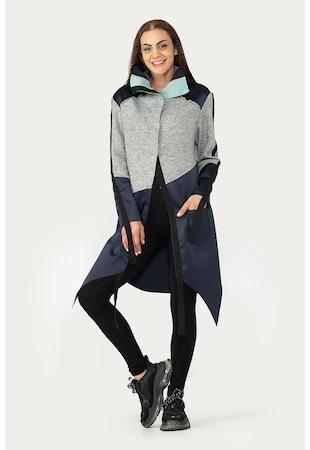 Jacheta asimetrica cu buzunare