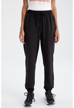 Pantaloni sport relaxed fit cu snur de ajustare