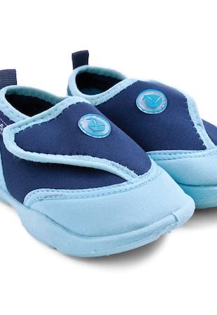 Детски плажни обувки в сини нюанси