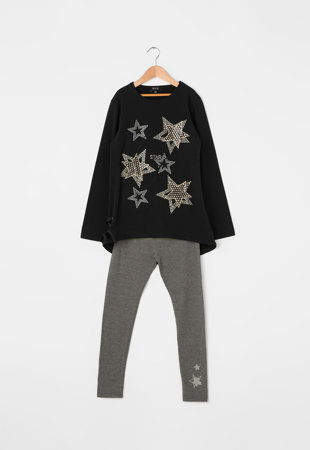 Комплект блуза и панталон