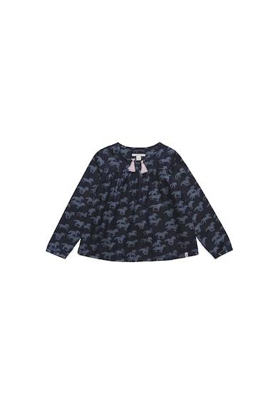 Esprit Памучна риза с фигурален десен Момичета