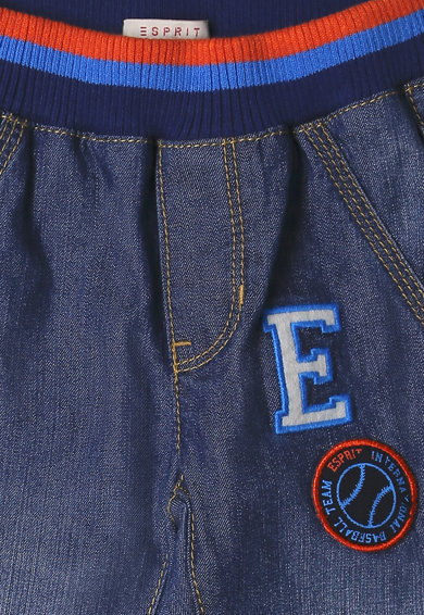 Esprit Blugi cu aplicatie logo Baieti
