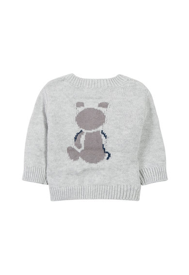 Absorba Плетен пуловер с копчета Момчета